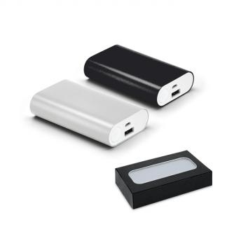Bateria portátil alumínio