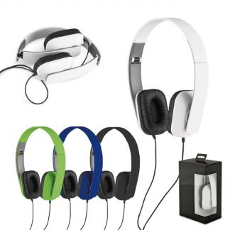 Fone de ouvido dobrável ABS