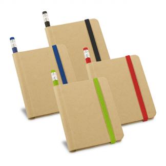 Caderno Capa Dura com Lápis